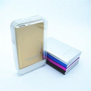 Banca di alimentazione di alta qualità 12000Mah Backup batteria esterna Custodia in metallo Caricabatterie Powerbank Alimentatore mobile per telefoni cellulari