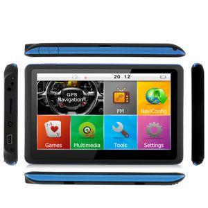 Navigazione GPS da 5 pollici Navigazione GPS per auto Bluetooth AVIN FM 800MHZ DDR 256MB 8GB Camion veicolo Mappe NAV NAV