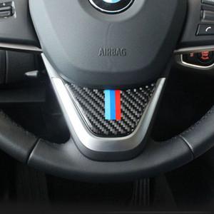 Adáptese a BMW X1 F48 E84 accesorios pegatinas emblemas fibra de carbono interior del automóvil BMW serie 2 vehículo de viaje multifuncional
