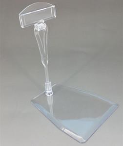 POP en plastique transparent clip carte signe étiquette de prix support présentoir détachable au détail magasin de supermarché 10 ensembles haute qualité