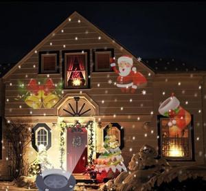 Al aire libre paisaje de Navidad decoración móvil proyector láser lámpara de luz LED
