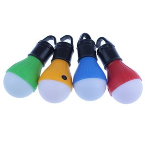 Soft Light Portable Outdoor Hanging LED Camping Tent Light Bulb Fishing Lantern Lamp Bulb Lamp For Camping Tent Fishing 4 Colors