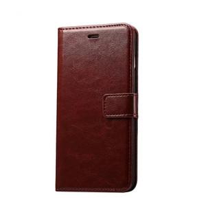 Funda de cuero de lujo para iPhone 6 6s Plus Soporte de titular de la tarjeta STAND SOUZ FLIP PHONE PHONE PARA IPHONE 7 7 Plus Case