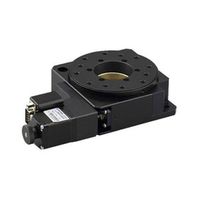 Étapes de rotation motorisées électriques PP110-95-100, étapes de rotation motorisées, étage rotatif motorisé de haute précision