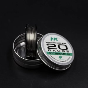 Sheen NK sıcak satmak elektrik direnç teli 20ga yuvarlak tel vape mod Ni90 ısıtma tel için satmak