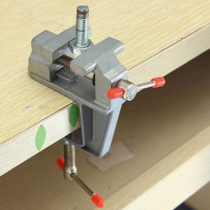 Vente chaude En Aluminium Miniature Petit Bijoutier Pince Sur Table Table Vise Outil Vice 85mm x 95mm