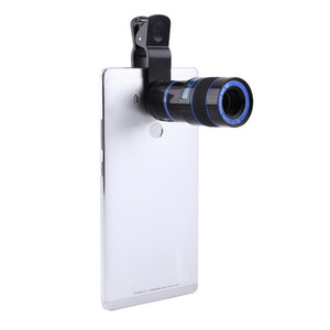 Universal 8X Zoom Mobile Phone Telescope Lens Clip-on For iP
