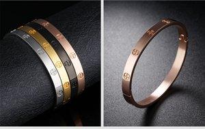 Regalo di San Valentino promozione bracciali in acciaio inox 316L amante della ragazza presente braccialetto corpo gioielli con croce design per amore