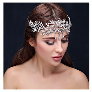 Bling Bling bridal bandeaux cristal bandeaux femmes bijoux de cheveux accessoires de mariage cristal diadèmes couronne tête chaîne