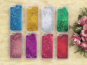 Für LG Stylo 3 Samsung S7 Rand S8 S8 plus iphone 5 6 7 Plus Bunte Bewegen Shining Stars Flüssiges Glitter Treibsand 3D Bling Telefon-Kasten-Abdeckung