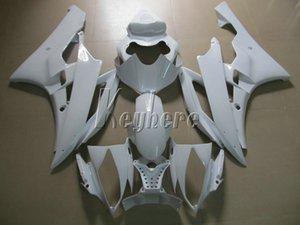 Carenados moldeados por inyección para el kit de carenado blanco Yamaha YZF R6 07 08 yzf R6 2007 2008 IY25