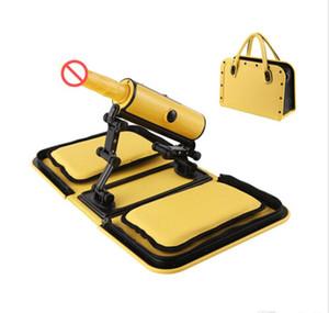 Portable Handbag Sex Machine Automatic Sexual Intercourse Remote Control Love Machine with Heat Dildo Three Thrusting Speeds Sex Toys