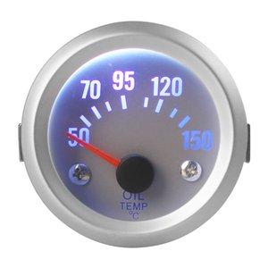 """Alta calidad 2"""" 52mm 50 ~ 150 grado Celsius de temperatura de aceite calibrador del metro con el sensor para el coche auto CEC_508"""