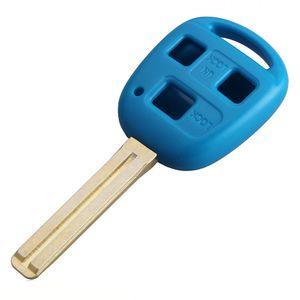 Гарантированный 100% 3Buttons 5 Цвет замена удаленного автомобиля Fob короткий ключ чехол для Lexus Бесплатная доставка