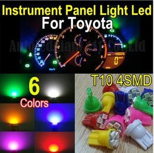 50X T10 4 SMD LED Car Wedge matrícula Clearance Indicator Light Lamp Blub
