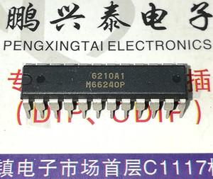 M66240P, 4-CH 16-BIT PWM GENERATOR Интегральные схемы ИС, двухрядная 24-контактная пластиковая упаковка / электронные компоненты, M66240. PDIP24