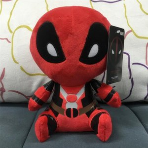 2017 Q Version 20 cm X-men authentique Deadpool poupée en peluche Deadpool figurines film 8 pouces jouet en peluche avec étiquette
