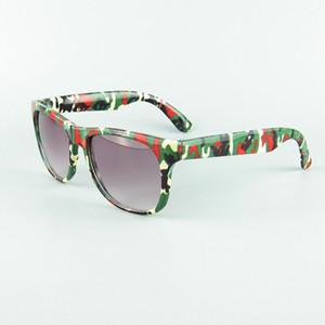 Ретро дети камуфляж солнцезащитные очки Oculos мальчики девочки очки дети спортивные очки детские Gafas UV400 завод прямые 1023