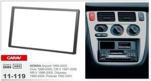 CARAV 11-119 car Radio install fix trim kit for HONDA Accord 1990-2002; Civic 1999-2000; CR-V 1997-2006; 2-DIN