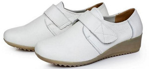 Wedge round head female the spring and autumn period and the single shoes, work shoes FuRuiSource