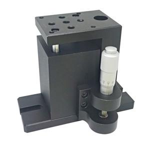 PT-SD407 Elevación manual precisa, Gato de laboratorio manual del eje Z, Elevador, Elevación óptica deslizante, 13 mm de recorrido
