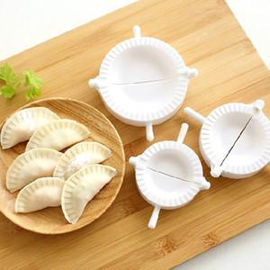 3 pcs Chinês DIY Dumpling Jiaozi Maker Fazendo Molde de Pastelaria Cozinha Cozinhar Ferramenta # R571