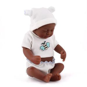 Mini Reborn dolls soft Vinyl real touch baby doll lifelike sleeping newborn babies bath toy