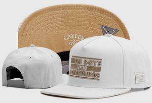 Yeni Cayler Sons Snapback Beyzbol Kapaklar Kemik Aba Reta Mektup Nakış Cheech Chong Hip Hop Kap Casquette Gorras Csbl Şapkalar