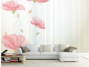 Estilo Europeu Top clássico 3D dourada padrão peony rico wallpaper auspicioso para paredes de 3 d para sala de estar