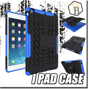 Für iPad Air 2 iPad 6 Bunte Rüstung Robuste PC TPU Hybrid Case Ständer für iPad mini Spiderman Schock Proof Phone Cases iPad Air Mini Fällen