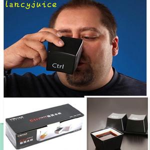 재미있는 티 컵 커피 머그잔 주방 수납 블랙 컬러 무료 배송