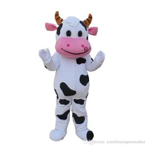 Usine vente directe EVA Matériel Casque de bande dessinée de haute qualité taureau vache Mascot costume Noël, Halloween EMS Livraison gratuite