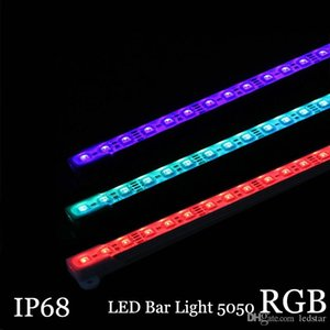 5050 RGB LED Bar Licht DC12V 36LED 50cm IP68 wasserdicht Aquarium Beleuchtung LED Hard Strip Bar Licht