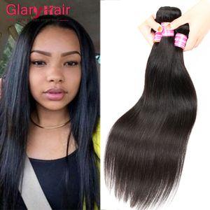 Реальное качество 100 г дешевые бразильские пучки волос Virgin бразильский прямые человеческие волосы перуанский малайзийский Индийский человека плетение волос