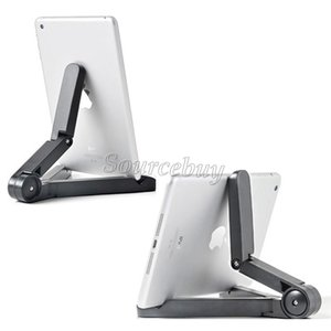 New Fashion Universal Adjustable Fold-Up mobile phones Stands Mount Holder for iPad 2 3 4 5 Mini Air 7-10 inch Tablet PC Bracket