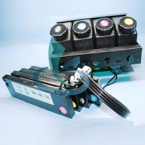 Imprimante Eco solvant / UV Mimaki Roland Xenons Xuli Système d'encre CISS Bulk 4 couleurs avec tube d'encre UV, connecteurs