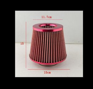 NOVITÀ Filtro aria fredda KN universale Filtro aria 76mm Filtro dell'aria da 3 pollici