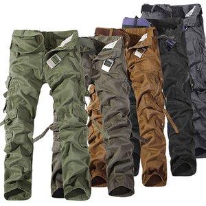 2017 Pantalon Worker DE NOËL NOUVEAU CASUAL MILITAIRE ARMEE MENS CARGO DE TRAVAIL CAMO PANTS COMBAT Pantalons