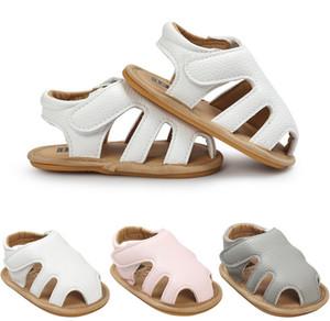 Baby Sandalen Sommer neue Baby Jungen Mädchen hohlen weichen Böden Sandalen Kinder Schuhe Infant Kleinkind Kinder weichen Leder rutschfeste Sandalen A0752