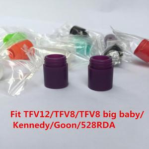 TFV12 TFV8 Embouchure Housse en silicone TFV12 goutte à goutte Pointe TFV8 à usage unique bouchons Tester Fit TFV8 gros bébé / Kennedy / Goon / 528 RDA ect