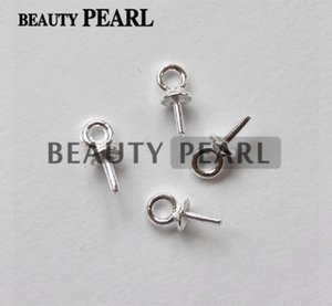 100 Stück Großhandel Beads Ende Anschlüsse für Charms DIY Perlenschmuck 925 Sterling Silber Bead Caps