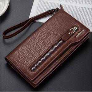 Baellerry'nin yeni erkek el çantası ile uzun bir çanta fermuarlı çanta multi-fonksiyonel el çantası taşınabilir çanta