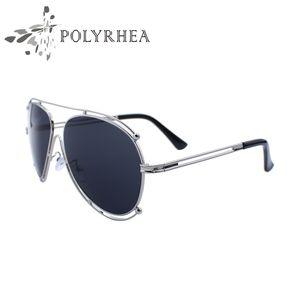 2021 Солнцезащитные очки Женщины Мода Роскошные Солнцезащитные Очки Бренд Дизайнер Ретро Полая металлическая рамка ПК Линза UV400 с коробкой