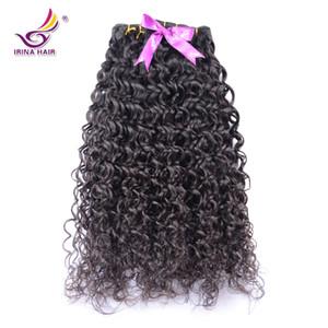 Cheveux Humains Humides et Ondulés Vierge Brésilienne Brute Non Transformée Eau Bouclée Brésilienne Vierge Cheveux Vague De L'eau Extensions de Cheveux Ondulés