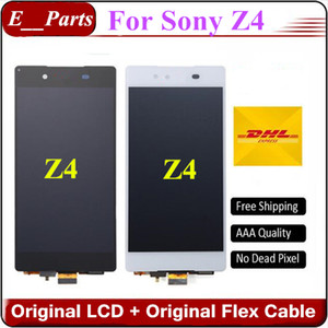 (100% Orijinal) Sony Xperia Için Z4 Z3 + z3 artı LCD E6553 E6533 E5663 Hızlı DHL Tarafından LCD Ekran Dokunmatik Ekran Digitizer Meclisi değiştirme