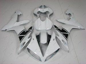 Carrosserie pour Kits de carénage YAMAHA YZFR1 04 05 YZF1000 R1 05 06 Kits de carrosserie Blanc Noir YZFR1 2004 2004 - 2006