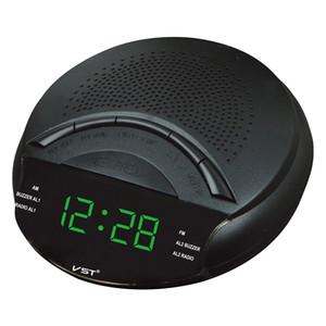 Мини FM/AM двухдиапазонный радиоприемник с функцией часов Портативный светодиодный дисплей Sleep Snooze многофункциональный радиоприемник динамик