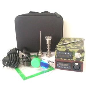 Portable E kit de clous pour table de clou électrique pour table de clou électrique E D boîte électronique pour dabber PID TC control Titane Quartz Cire à ongles sèche herbe