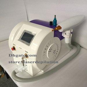 1064nm 532nm Q Máquina de limpieza de tatuajes con interruptor Nd Yag Equipo láser Eliminación de pigmento de cejas Máquina de belleza