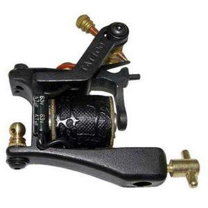 Sıcak Satış Demir Dövme Guns T-Dial Dövme Makineleri 10 Wrap Bobinleri chines Liner Shader Siyah Guns Dövme Malzemeleri